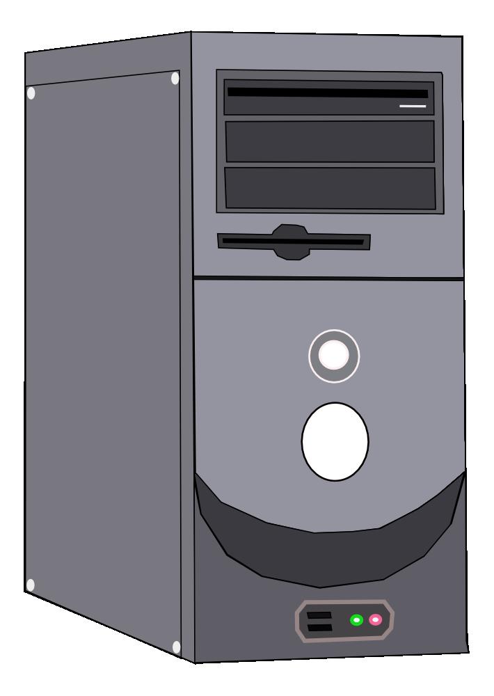 Onlinelabels Clip Art Computer System Case