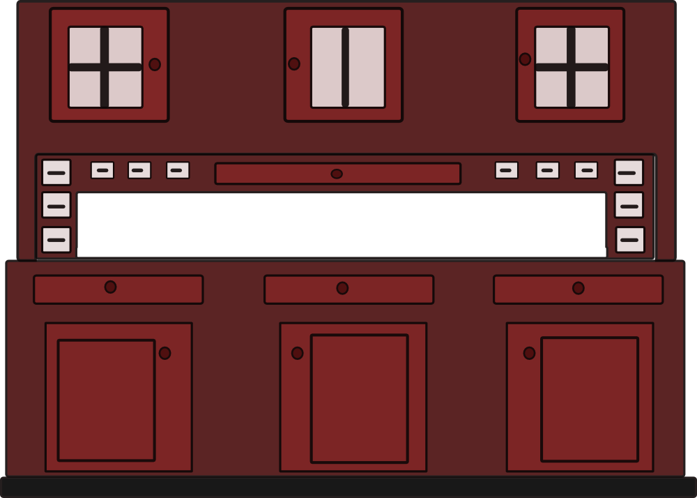 OnlineLabels Clip Art - Cupboard