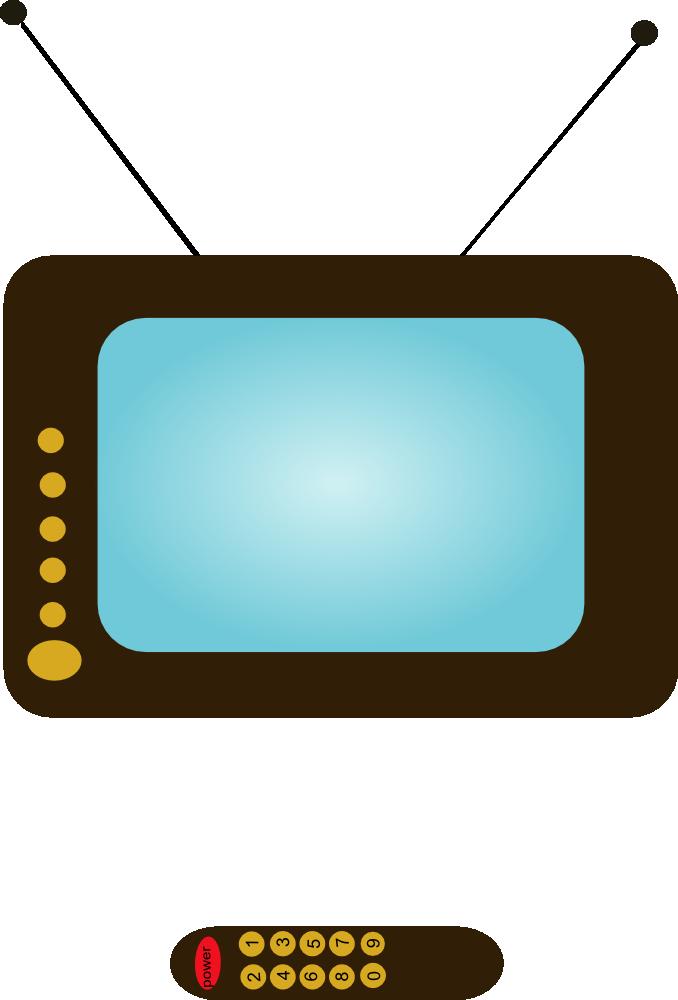 OnlineLabels Clip Art - TV Set 5: templates.onlinelabels.com/clip-art/tv_set_5-107307.htm