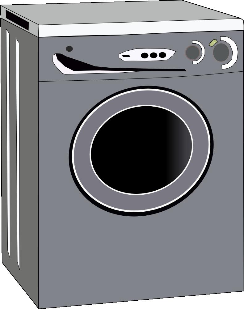 Clip Art Washing Machine ~ Onlinelabels clip art washing machine