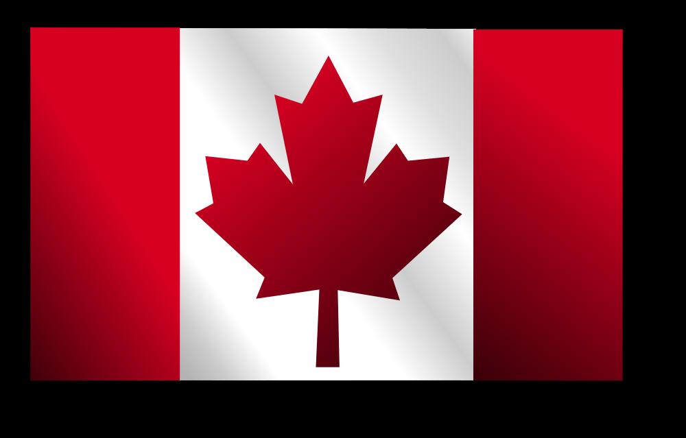 Onlinelabels clip art canadian flag 2 - Canada flag image ...