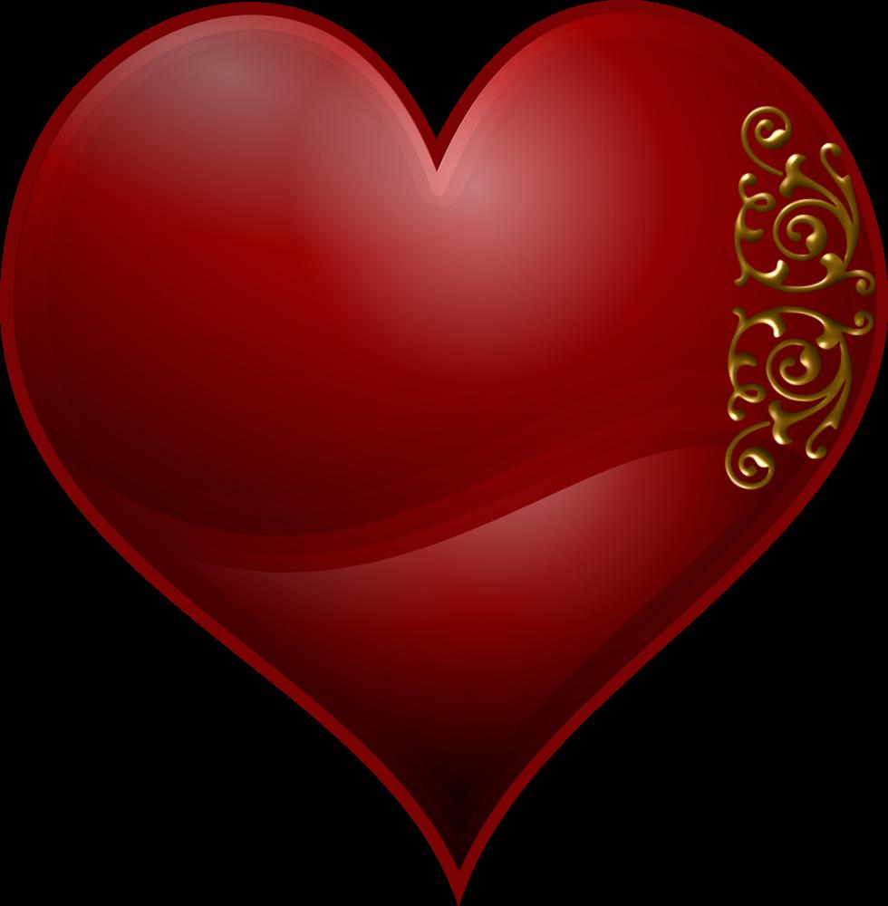 OnlineLabels Clip Art - Hearts Symbol