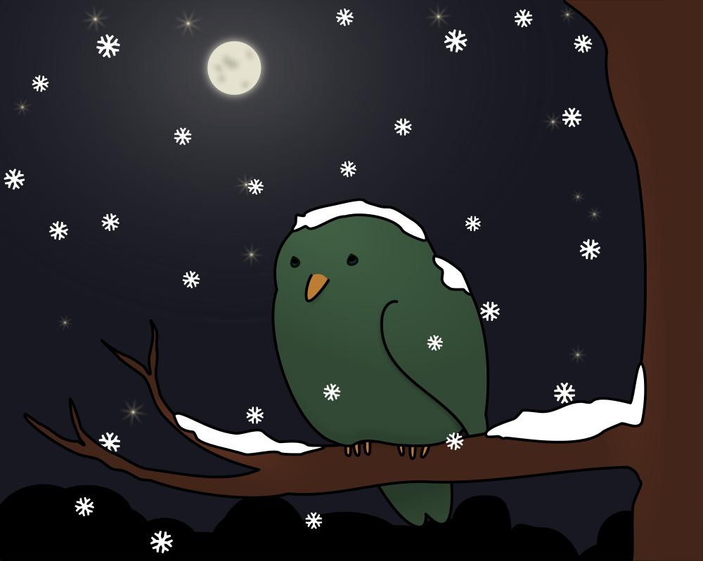 onlinelabels clip art snowing again