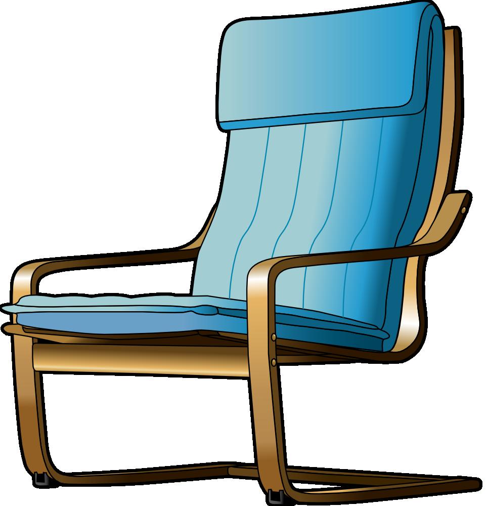 OnlineLabels Clip Art - Armchair