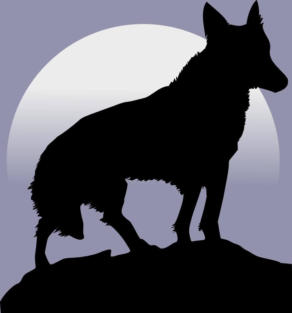 Onlinelabels Clip Art Wolf