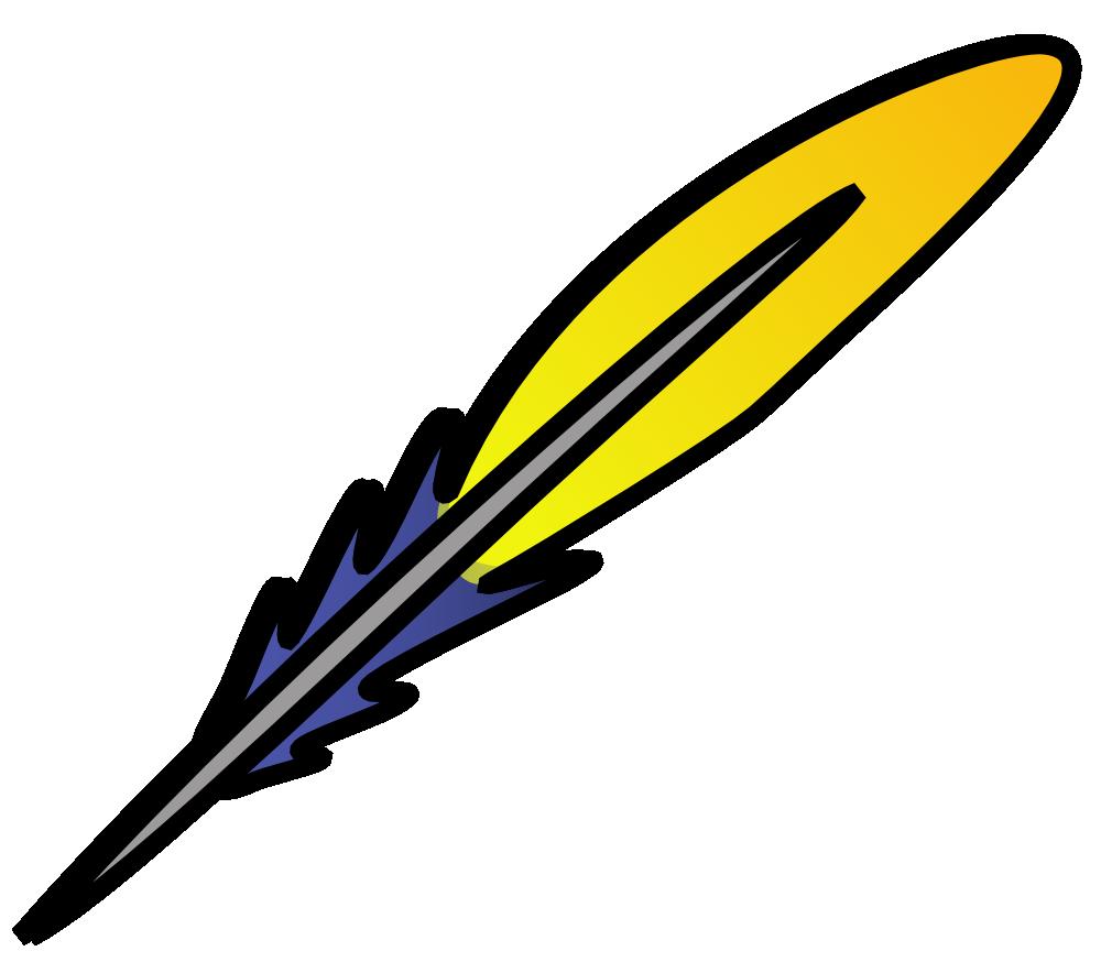 Onlinelabels Clip Art Feather