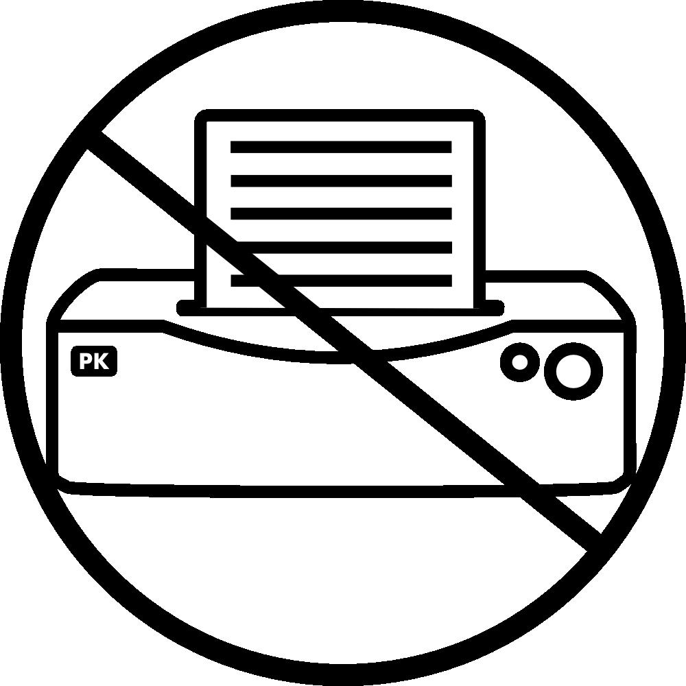 OnlineLabels Clip Art - Printer
