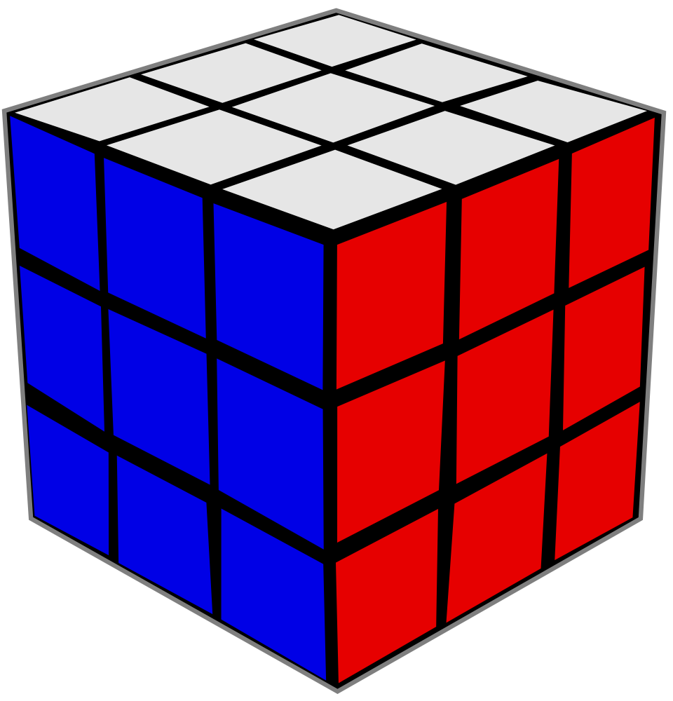 Rubix Cube Template Free coloring pages of rubiks cube