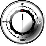 Modern Compass Rose