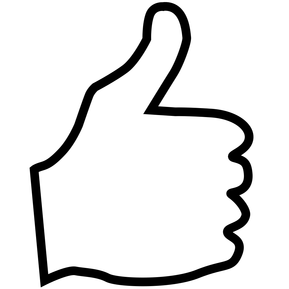 OnlineLabels Clip Art - Thumbs Up