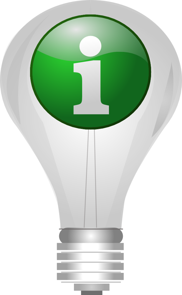 OnlineLabels Clip Art - Info_Lightbulb