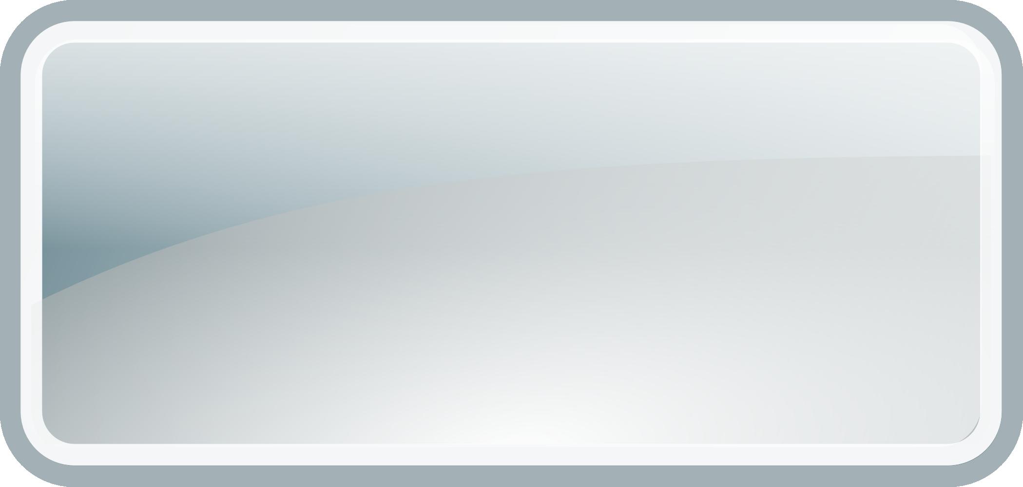 OnlineLabels Clip Art - Glossy Rectangle