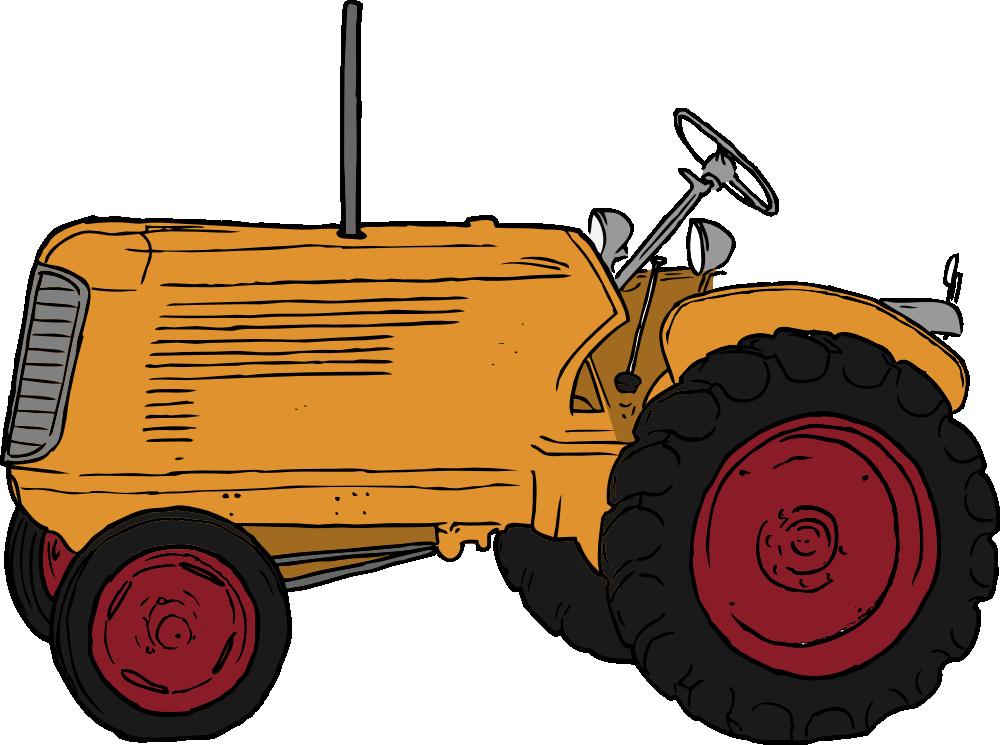 Tractor Cart Clip Art : Onlinelabels clip art tractor
