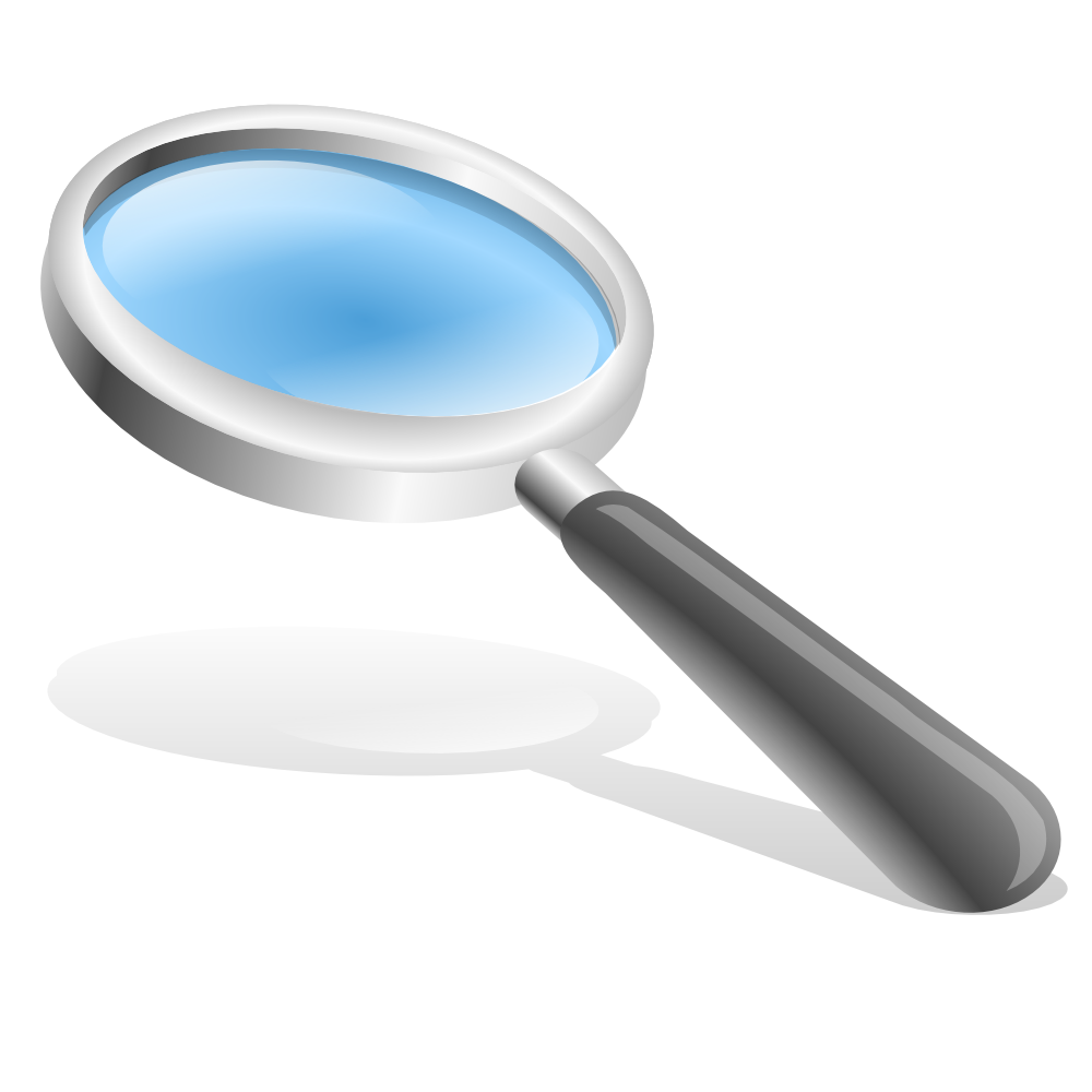 Image result for explore magnifying glass clipart