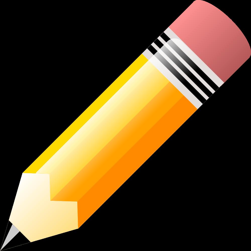 OnlineLabels Clip Art - Pencil (1000 x 1000 Pixel)