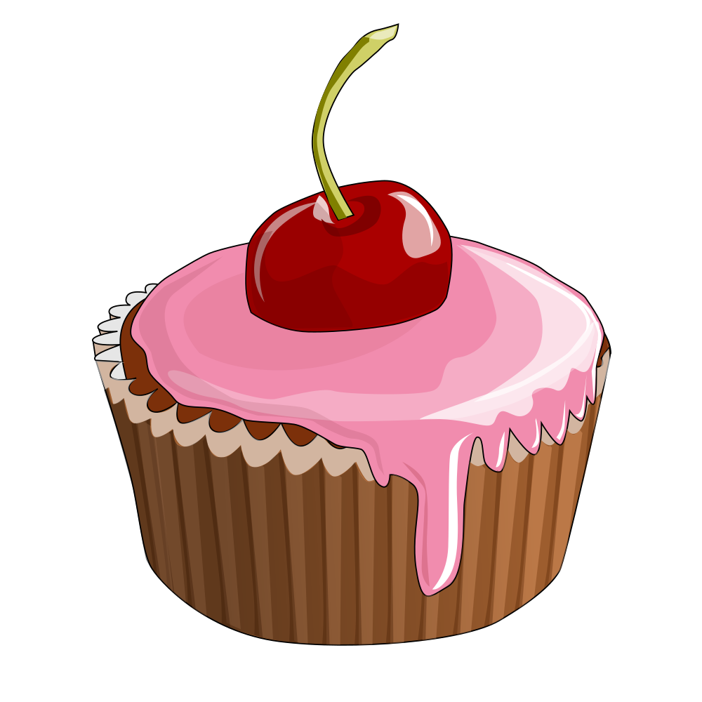 cupcake png clipart cupcake drawing pastry pastel - 1000×1000