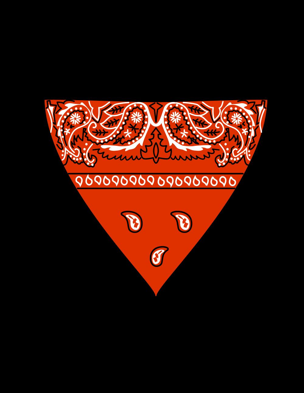 OnlineLabels Clip Art - Red Bandana