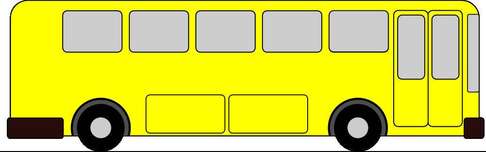 yellow bus clipart - photo #3