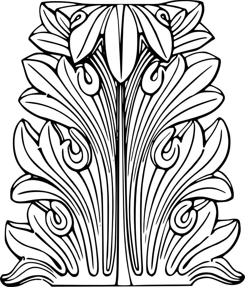 Acanthus Leaves Clip Art