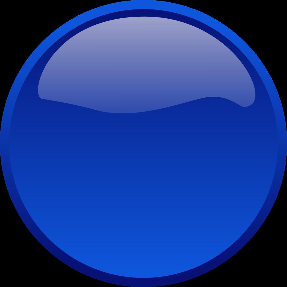 OnlineLabels Clip Art - Button Blue