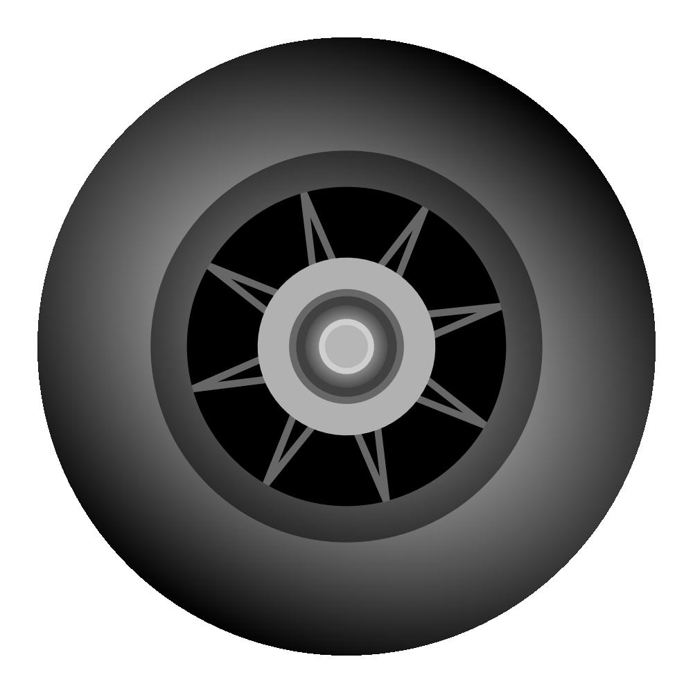 Onlinelabels Clip Art Inline Skate Wheel