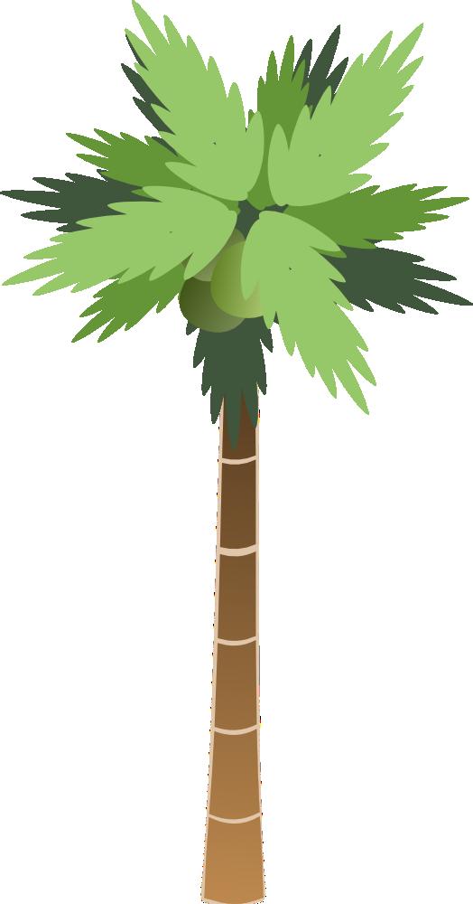 OnlineLabels Clip Art - Palm Tree