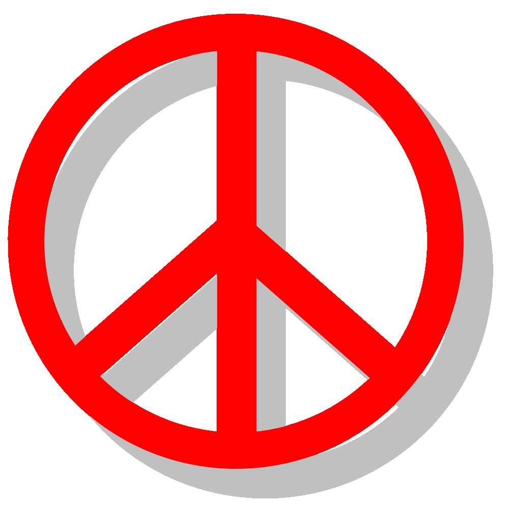 OnlineLabels Clip Art - Peace Sign