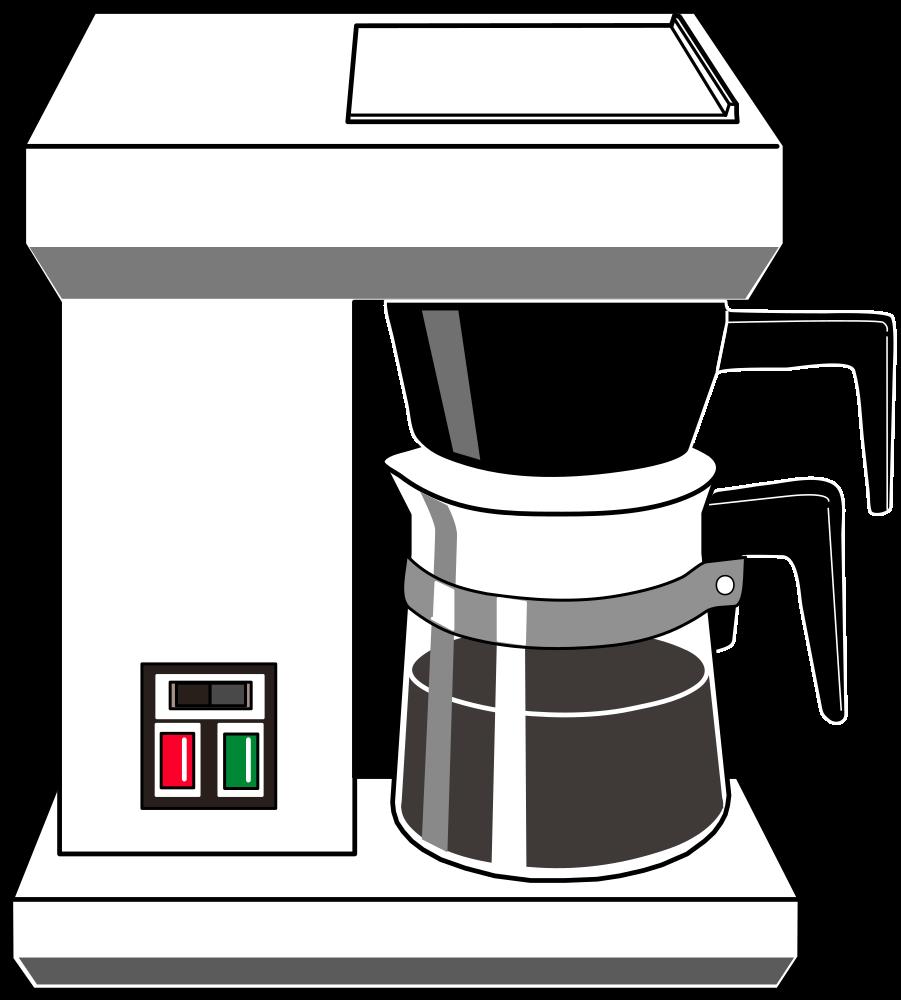 OnlineLabels Clip Art - Drip Coffee Maker
