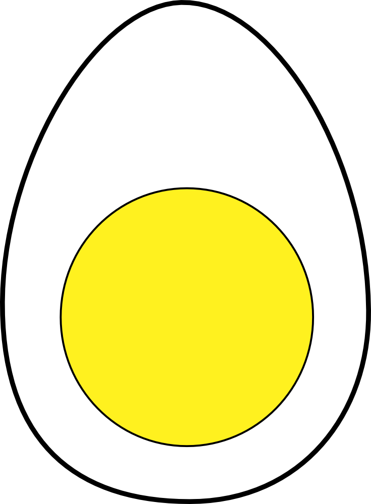 OnlineLabels Clip Art - Egg