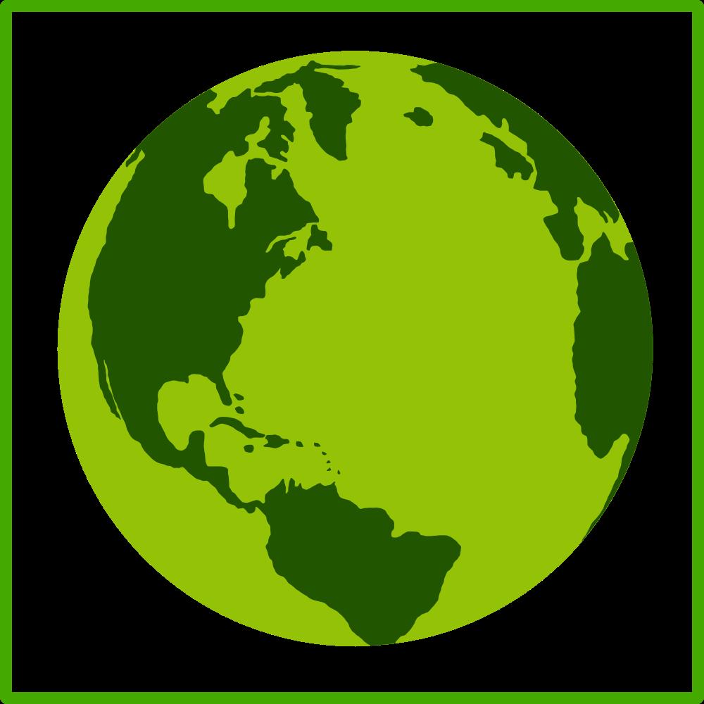 Eco Green Earth Icon