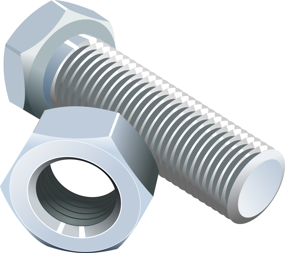 Screws And Bolts Clipart