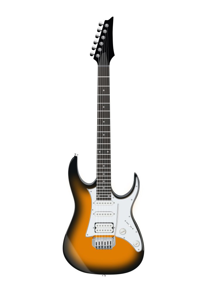 onlinelabels clip art ibanez electric guitar. Black Bedroom Furniture Sets. Home Design Ideas