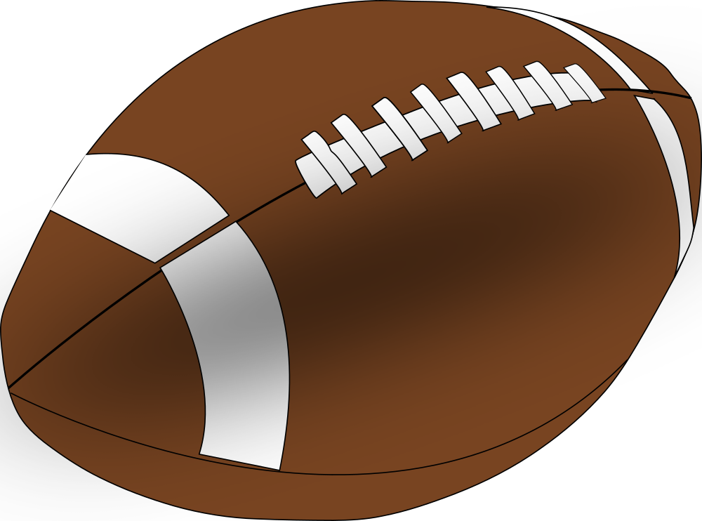 OnlineLabels Clip Art - American Football