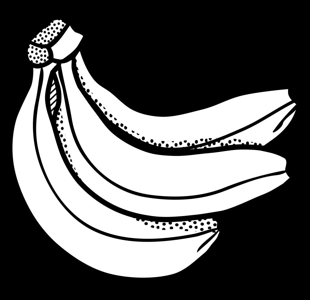 onlinelabels clip art - bunch of bananas