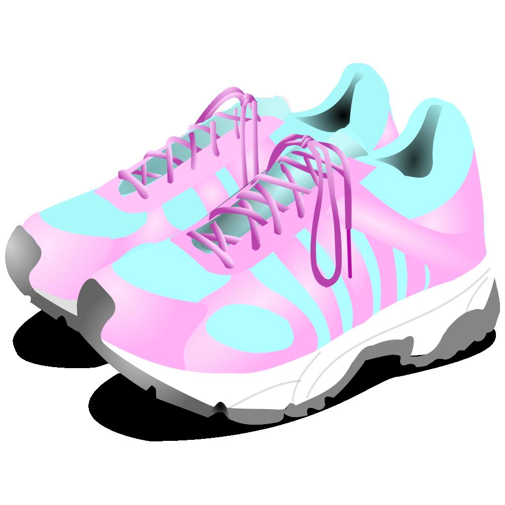 OnlineLabels Clip Art - Sneakers
