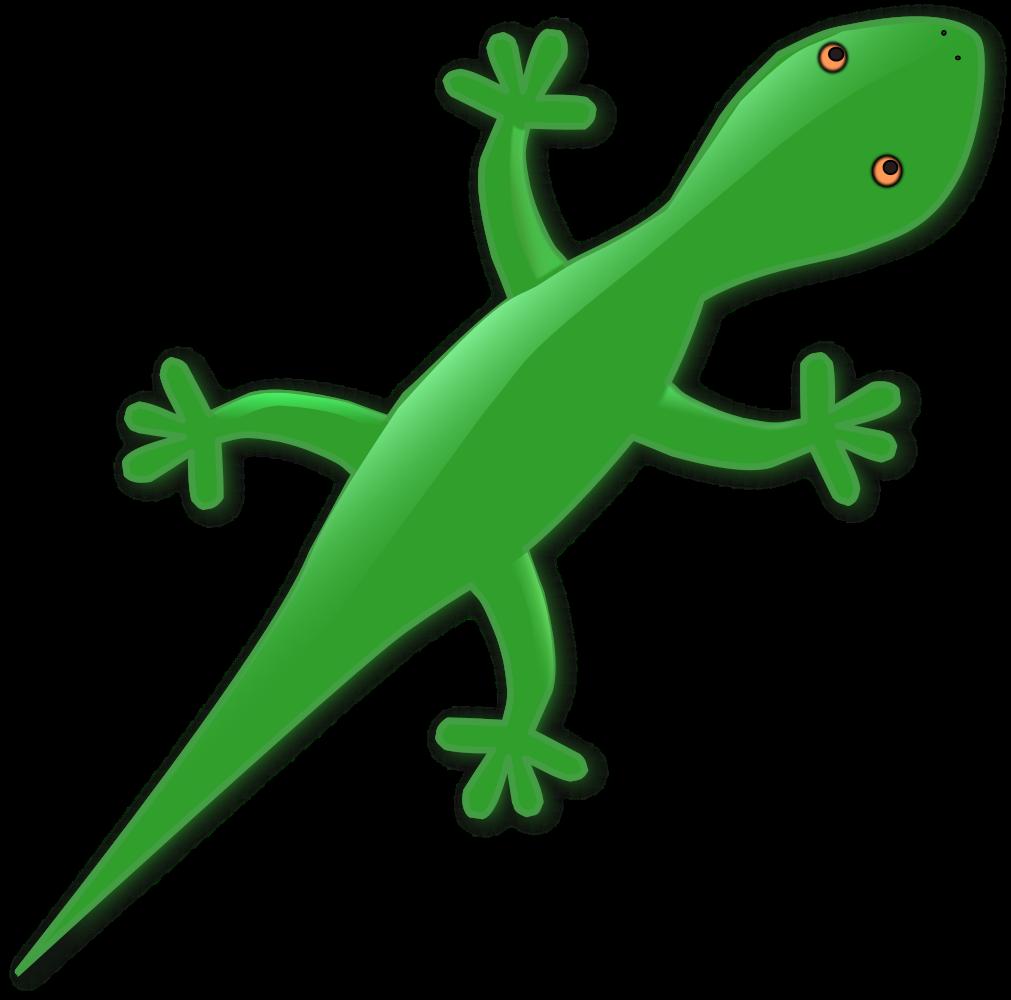 OnlineLabels Clip Art - Lizard