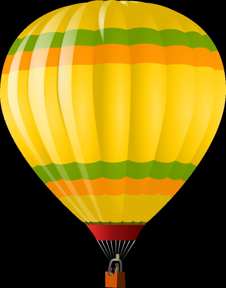 OnlineLabels Clip Art - Hot Air Balloon