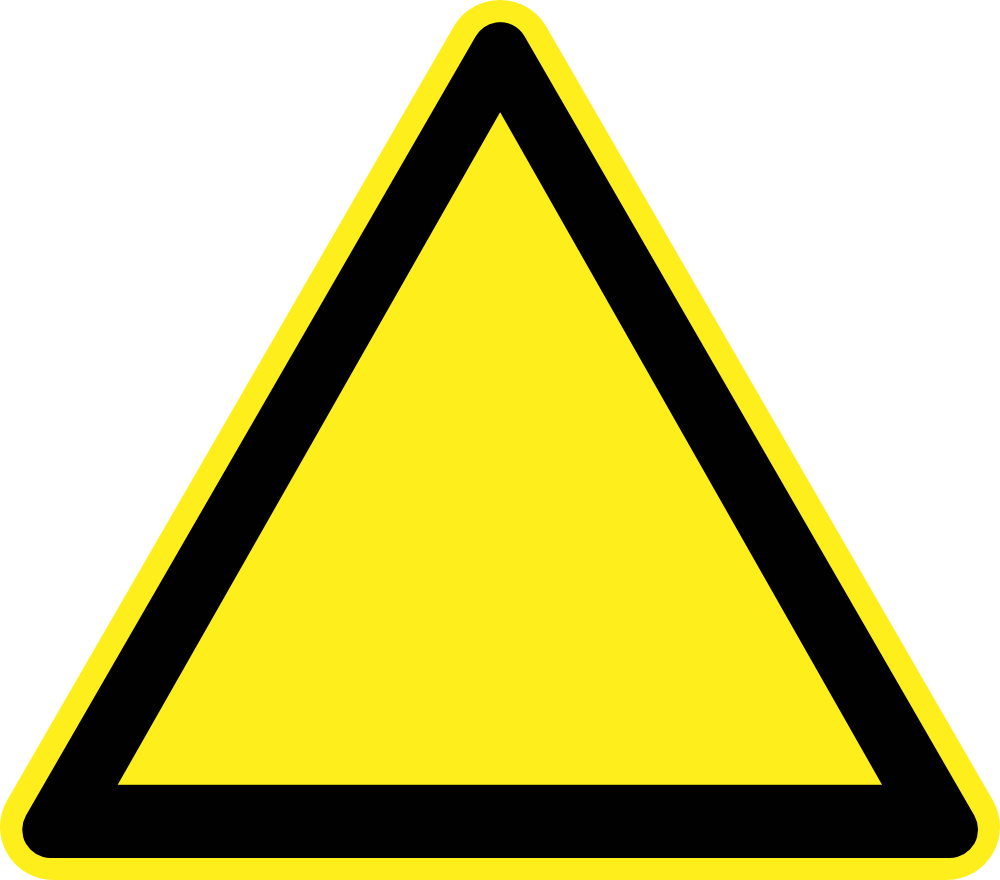 OnlineLabels Clip Art - Signs Hazard Warning
