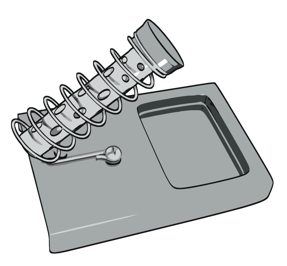 onlinelabels clip art soldering iron stand. Black Bedroom Furniture Sets. Home Design Ideas
