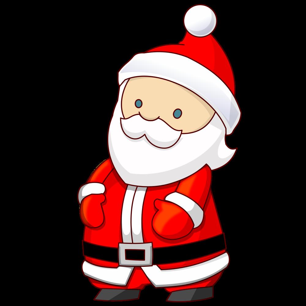 OnlineLabels Clip Art - Santa Claus