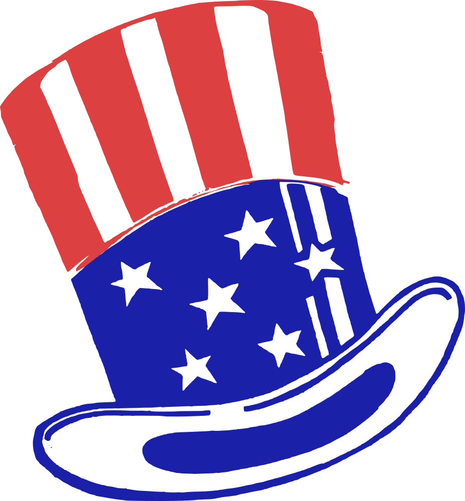 onlinelabels clip art uncle sam hat rh onlinelabels com uncle sam clip art free uncle sam clip arts color sheets