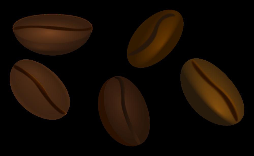 OnlineLabels Clip Art - Coffee Beans