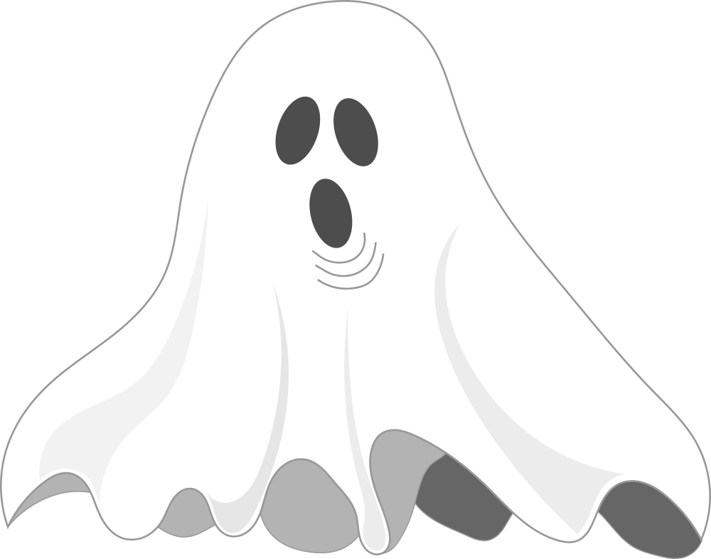 OnlineLabels Clip Art - Ghost