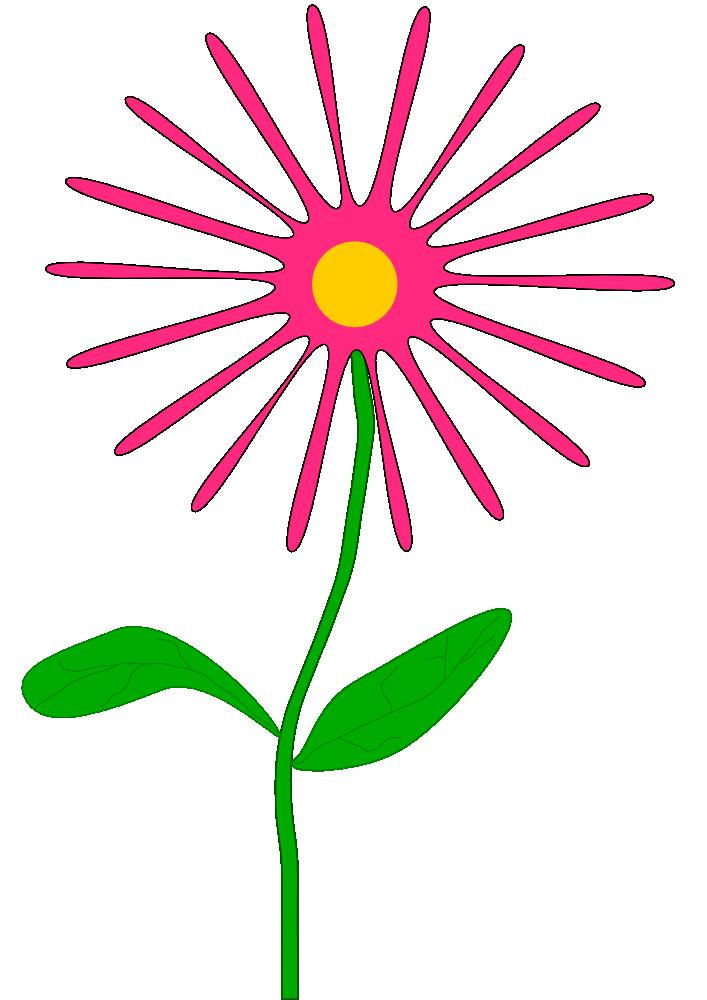 Onlinelabels clip art whimsical pink flower whimsical pink flower mightylinksfo