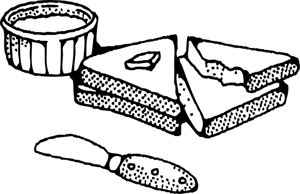 Slice of Bread Clipart Sliced Bread With Butter