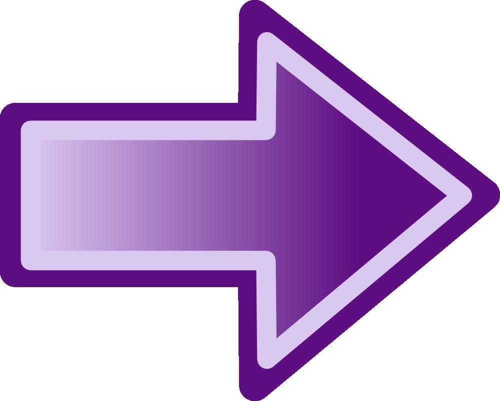 OnlineLabels Clip Art - Purple Arrow Shape