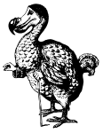 The Dodo from Alice in Wonderland
