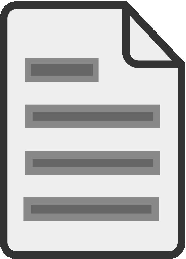 OnlineLabels Clip Art - Document