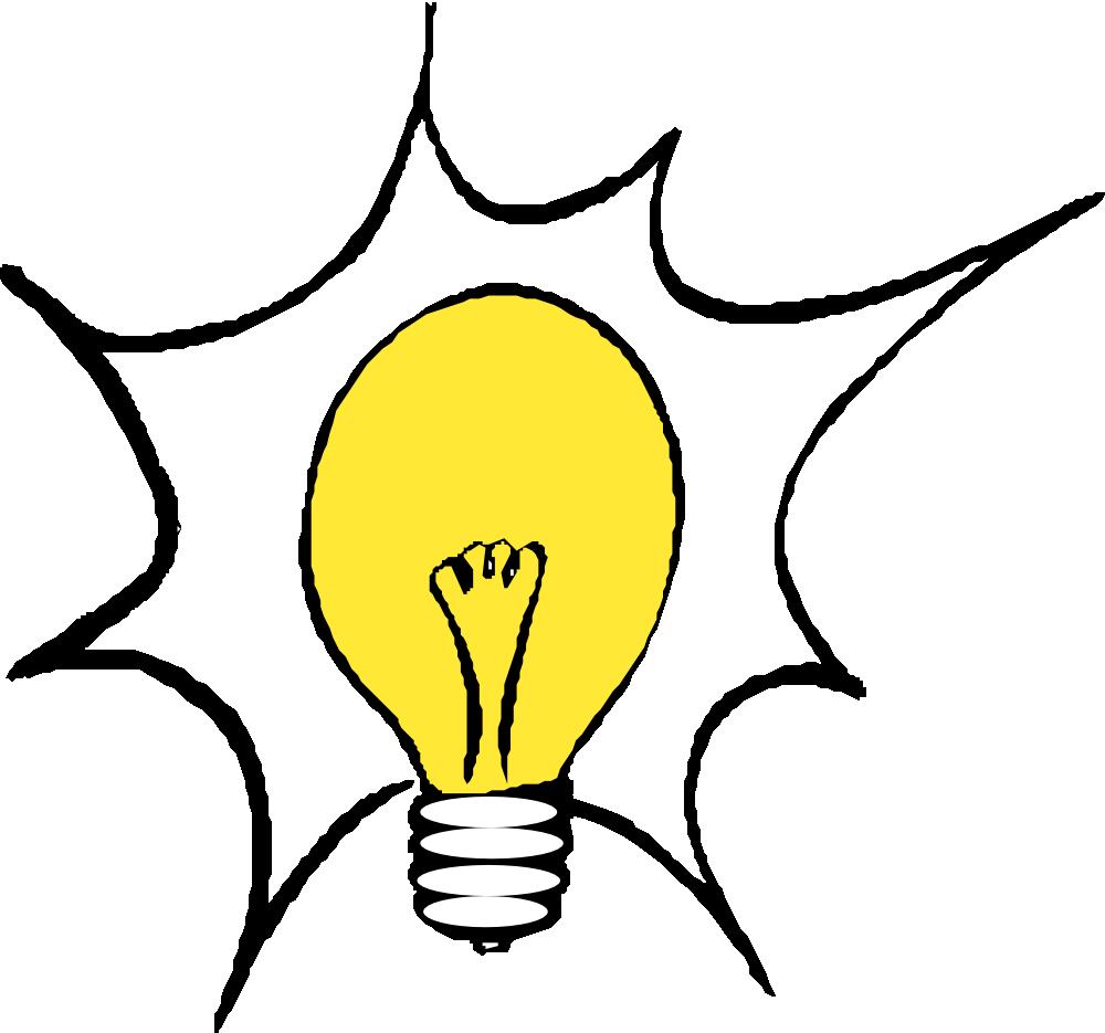 OnlineLabels Clip Art - Light Bulb 3