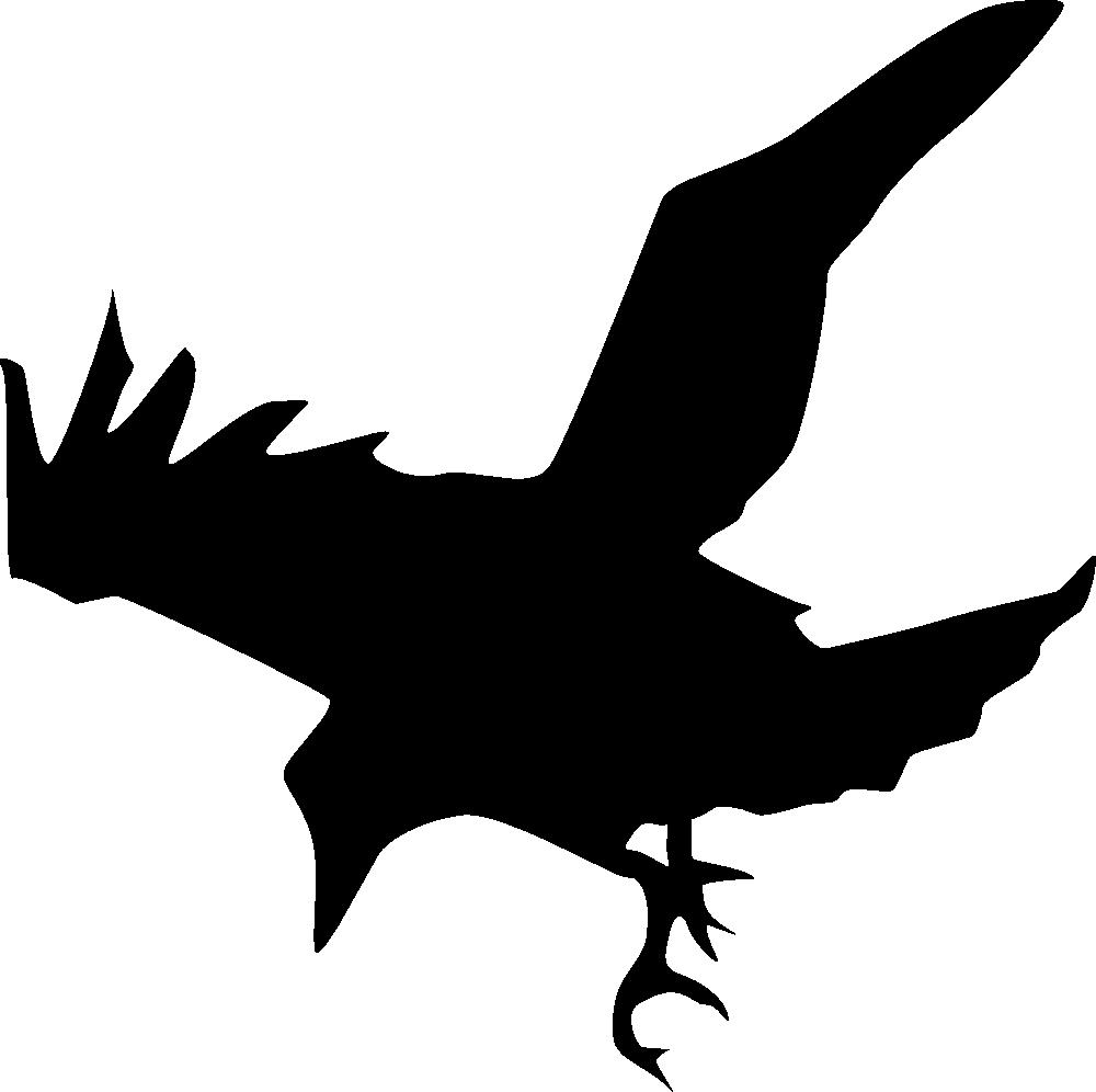 Raven Silhouette Templates Raven silhouette